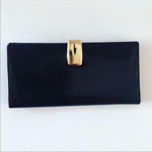 Authenticated Vintage Gucci Black Patent Wallet